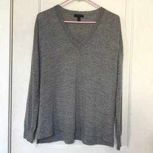 J. Crew V-Neck Boyfriend Sweater